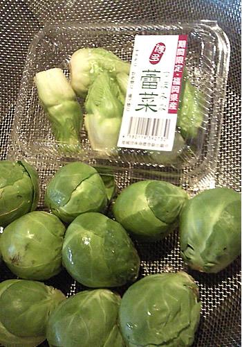 芽きゃべつ、蕾菜