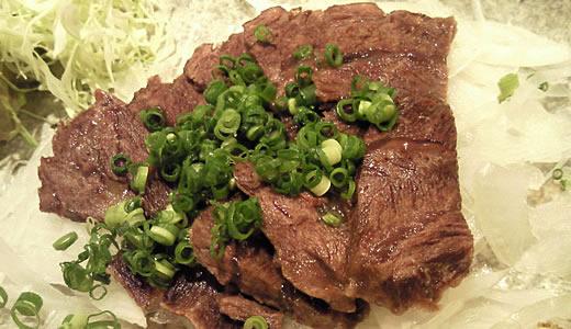 牛ホホ肉蒸しポン酢