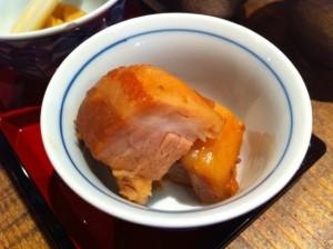 自家製豚の角煮