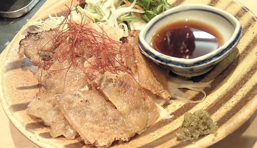 豚足のカリカリ焼