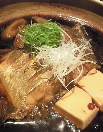 ダルマ鯛煮付け