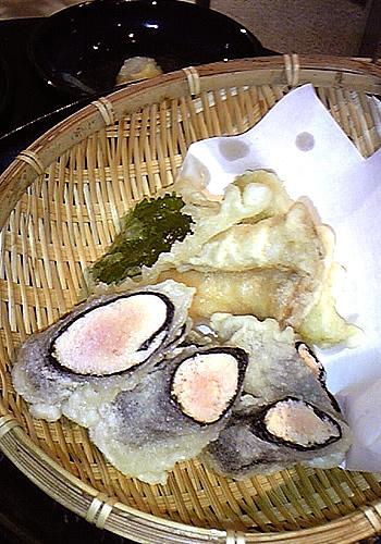 めんたいこ天ぷら