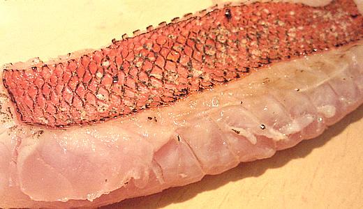 金目鯛炙り