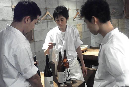 日本酒試飲会