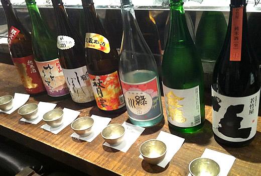 12月日本酒ラインナップ