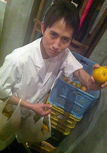 やすさんと橙(だいだい)