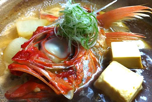 金目鯛 煮つけ