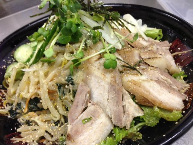 豚サラダ1