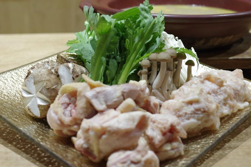 5強肴:博多地鶏水炊き