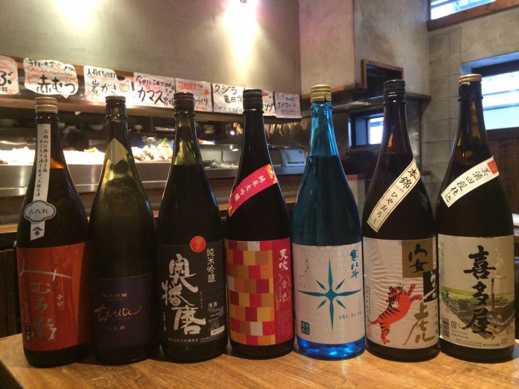 2016.9下川日本酒全種